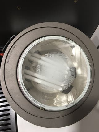 Luz bajo consumo downlight porche 22 centimetros