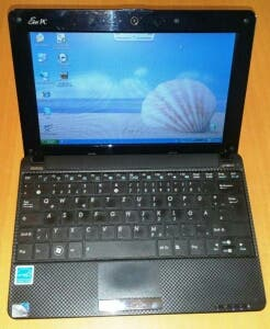 VENDO NETBOOK ASUS EEE PC 1001 HA NEGRO