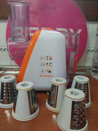 Picadora y ralladora de Silvercrest, robot cocina
