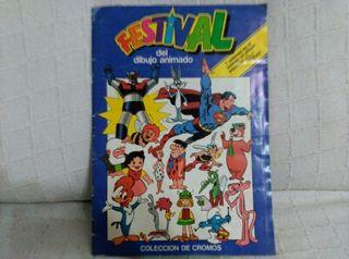 Álbum Festival de los dibujos animados