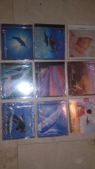 Lote de 9 cd. Música relajante
