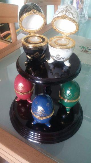 Huevos imitacion Faberger