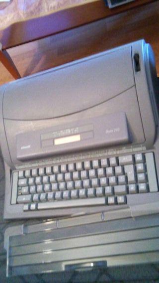 Años 90 Maquina escribir Olivetti dora 203