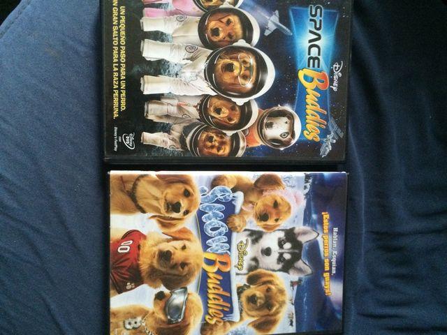 DVD's Snow Buddies + Space buddies