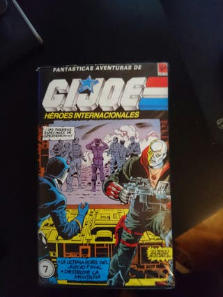Gi Joe Héroes internacionales Vol 7 (VHS)