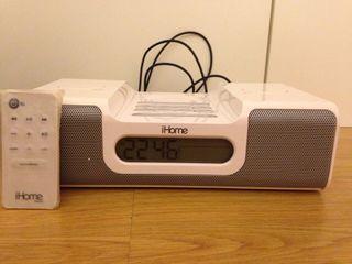 Altavoz y radio para iPod y iPhone i home