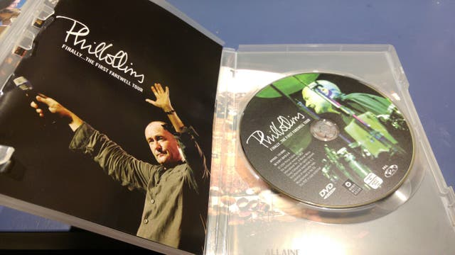 DVD PHIL COLLINS FINALLY... THE FIRST FAREWELL TOU