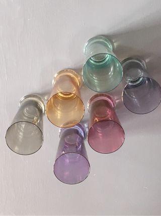 Vasos multicolor