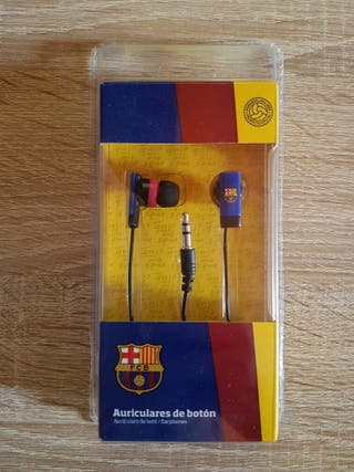 Auriculares FC Barcelona nuevos