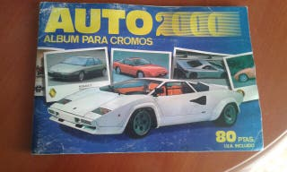 Album de cromos auto 20000