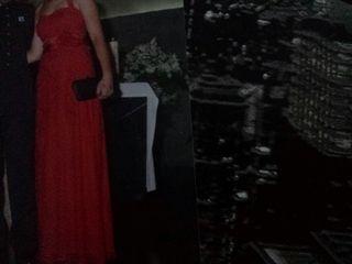 Vestido rojo para bodas talla 40