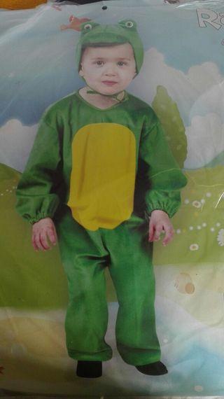 Diafraz rana niños talla 3 - 4 años