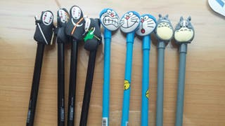 Bolígrafos de gel punta fina