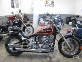 Yamaha drag star 650 cc Naranja