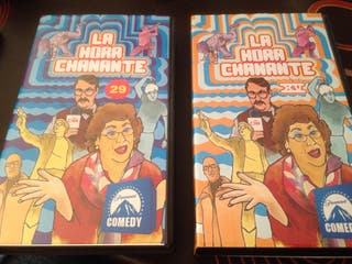 2 Vhs inheditos de la hora chanante