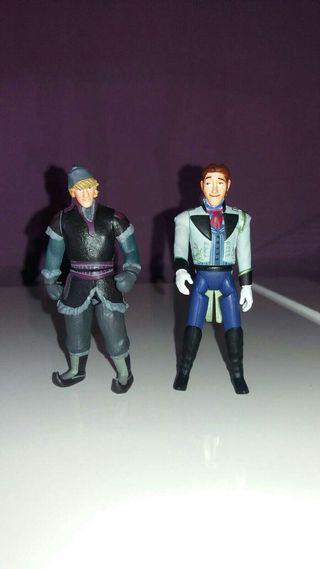 Disney figuras kristoff y hans. Frozen