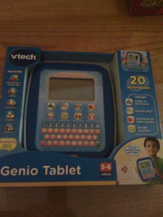 Tablet para niñ@s 3/6 años