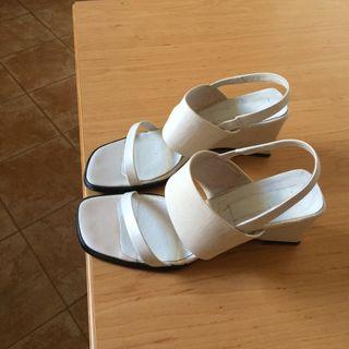 Sandaalias de piel