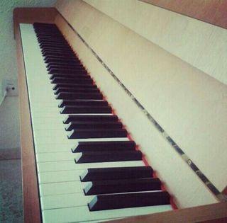 Clases particulares de piano.