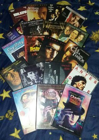 Películas DVD de Johnny Depp