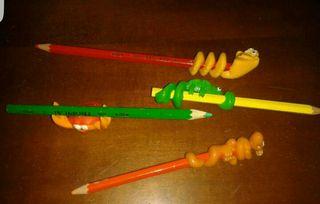 Antiguos adornos para lápices de los 80/90