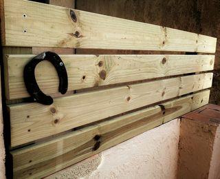 Vallas de madera, brezo o mimbre natural