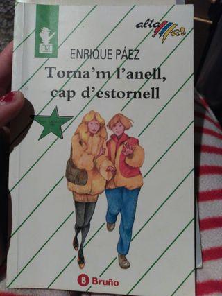 Libro valenciano, torna'm l'anell cap d'estornell