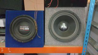 Altavoces JL audio y otras marcas