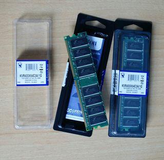 Kit de memoria RAM Kingston 2x1GB