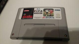 Fifa International soccer super nintendo..