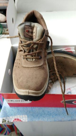 Zapato bota seguridad cofra