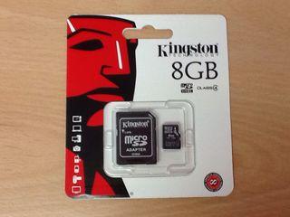 Tarjeta de 8 GB