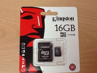 Tarjeta de 16 GB