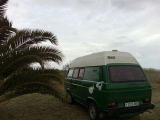 Caravana autocaravana Volkswagen t3 westfalia