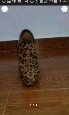 Zapatos leopardo n39