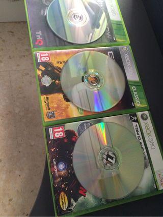 Pack 3 Juegos Xbox 360