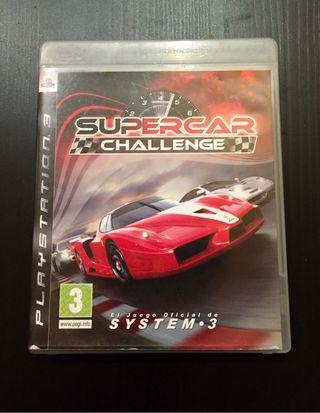 Juego PS3. Supercar Challenge