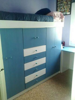 Muebles habitacion juvenil de segunda mano por 745 en for Wallapop ourense muebles