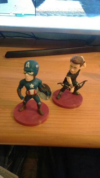 Figuras superheroes 'Los Vengadores'