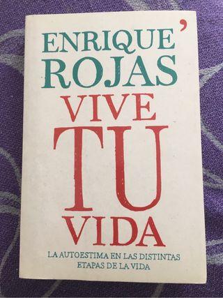 Libro Vive tu vida de Enrique Rojas