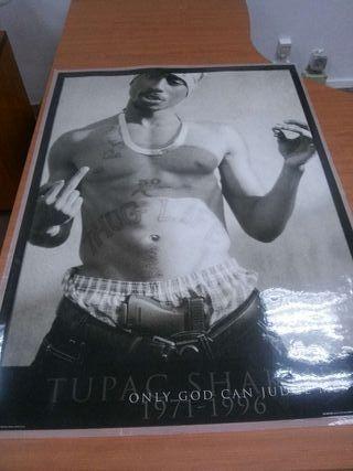Póster tupac thug life