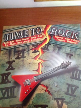 Time To Rock Vinilo, Grupos De Rock