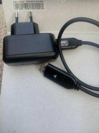 Batería y cargador camara samsung