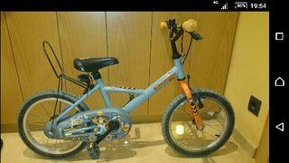 Bicicleta decathlon 4-6 años