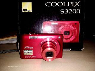 Cámara compacta Nikon coolpix S3200