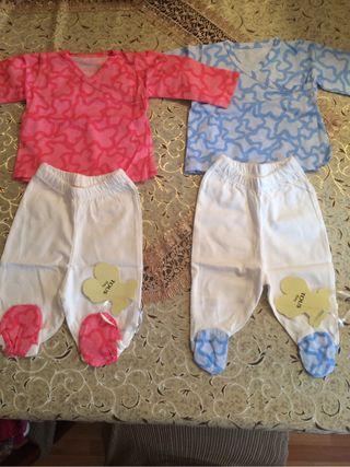 ropa niño y niña lote