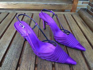 Zapatos de Fiesta color malva