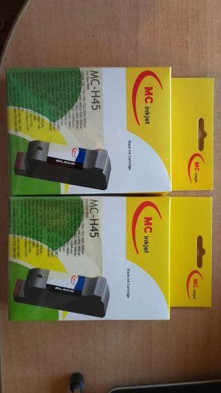 Cartuchos de tinta para inpresora.