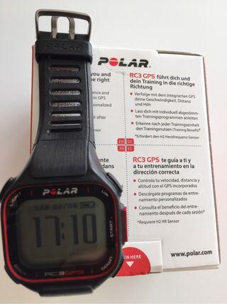GPS pulsometro POLAR RC3