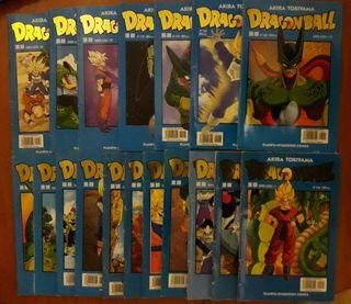 18 Cómics de DragonBall serie azul
